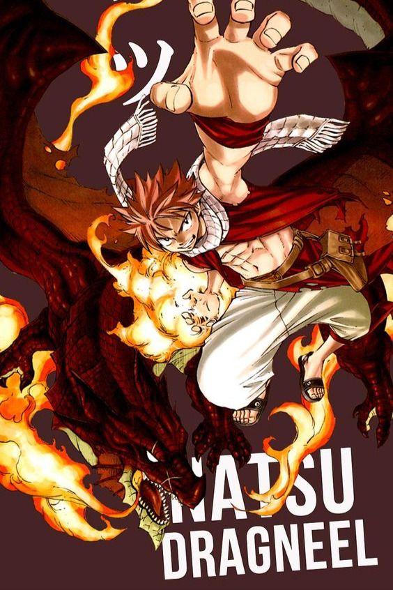 Natsu Dragneel Fairy Tail - Anime Icon Wallpaper