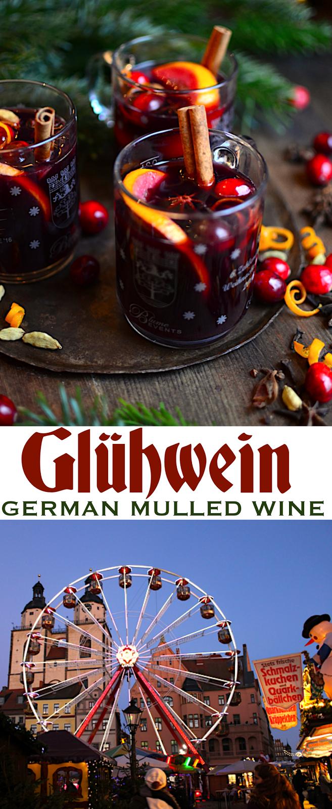 Glühwein {German Mulled Wine} Mulled wine, Spiced wine