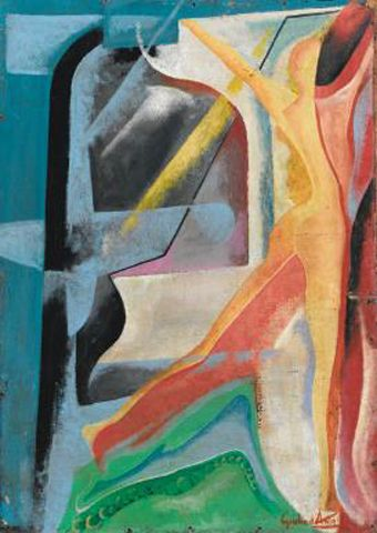 Giulio D'Anna (Italia, 1908 – 1978)  NUDO c.1950