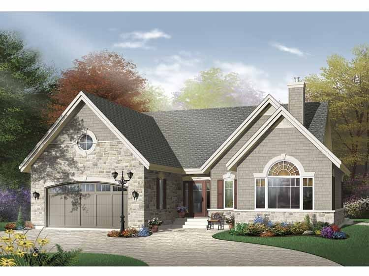 European Style House Plan 3 Beds 1 Baths 1795 Sq Ft Plan 23 565 Drummond House Plans Bungalow House Plans House Plans