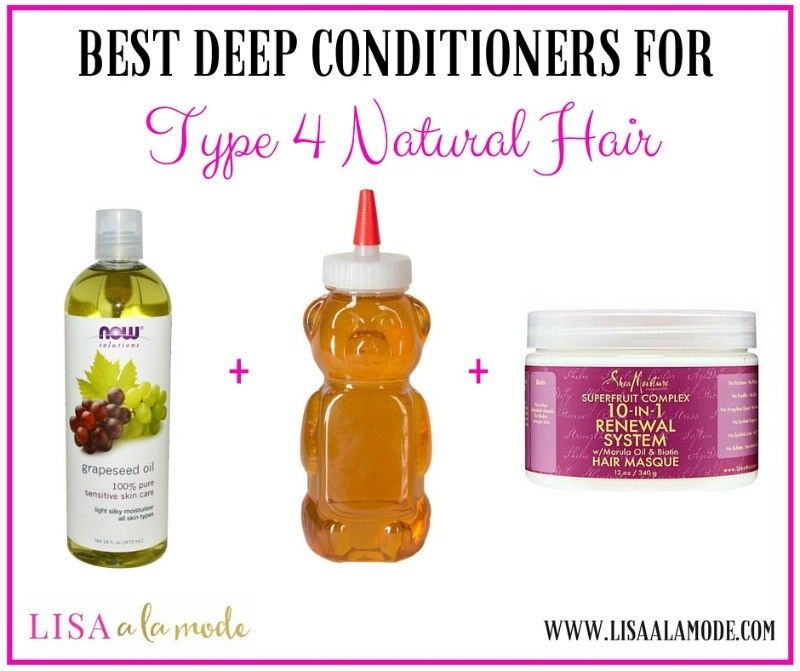Best Deep Conditioner for Type 4 Natural Hair Deep