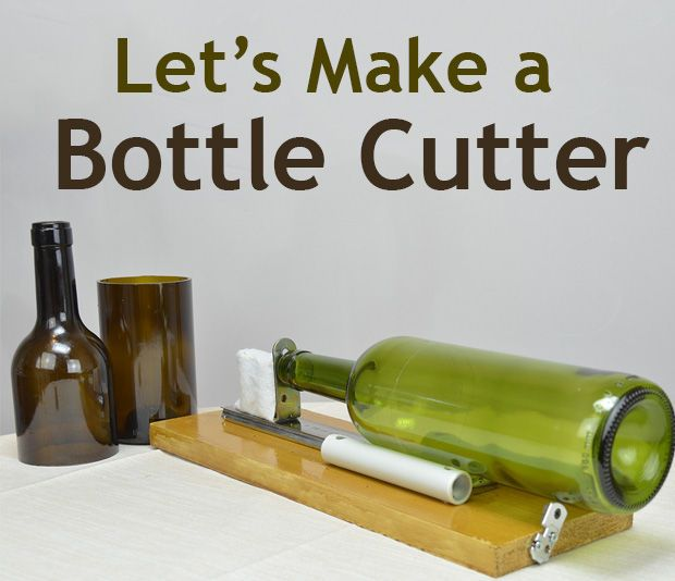 Diy glass bottle cutter bottle cutter glass bottle and for How to make wine bottle crafts