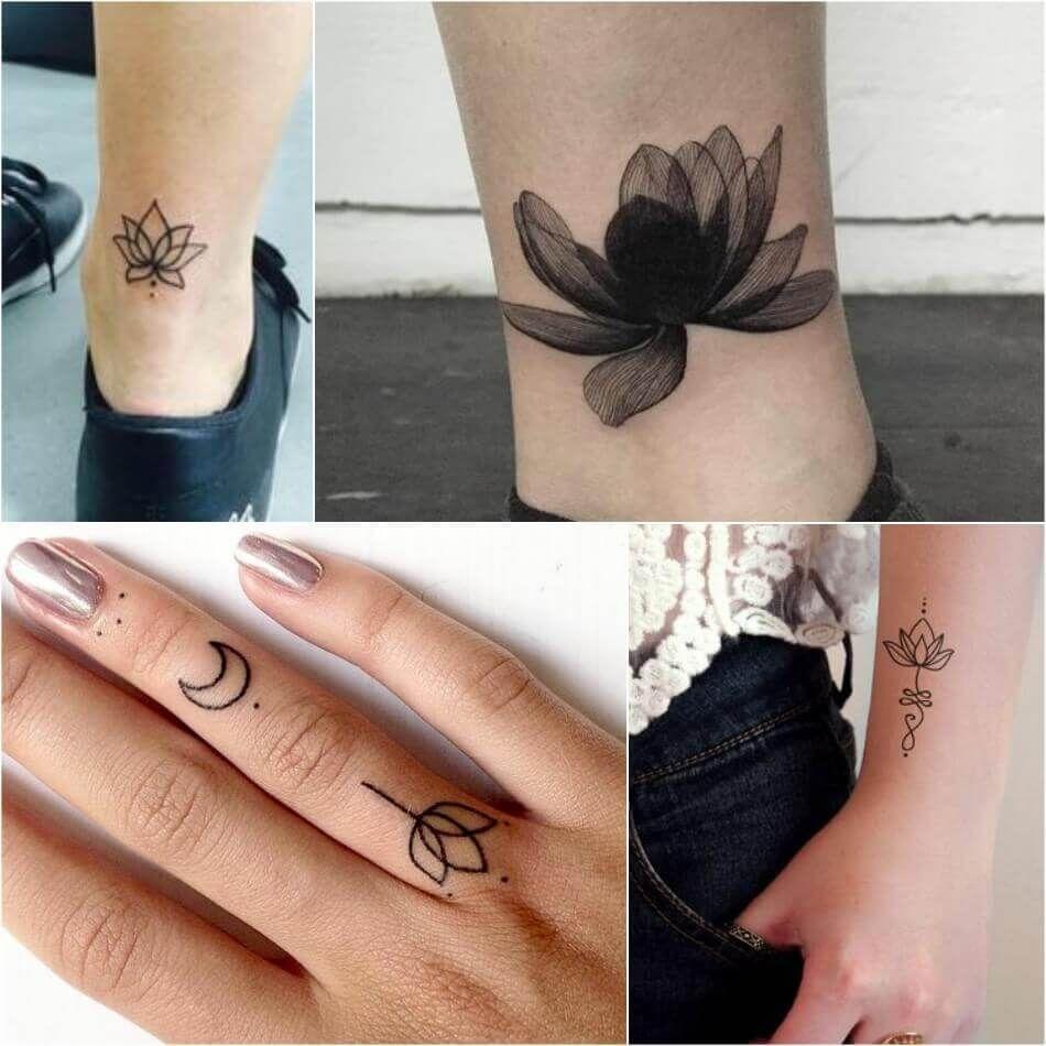Lotus Flower Tattoo Female Lotus Tattoos Designs With Meaning Small Lotus Tattoo Lotus Tattoo Design Lotus Tattoo