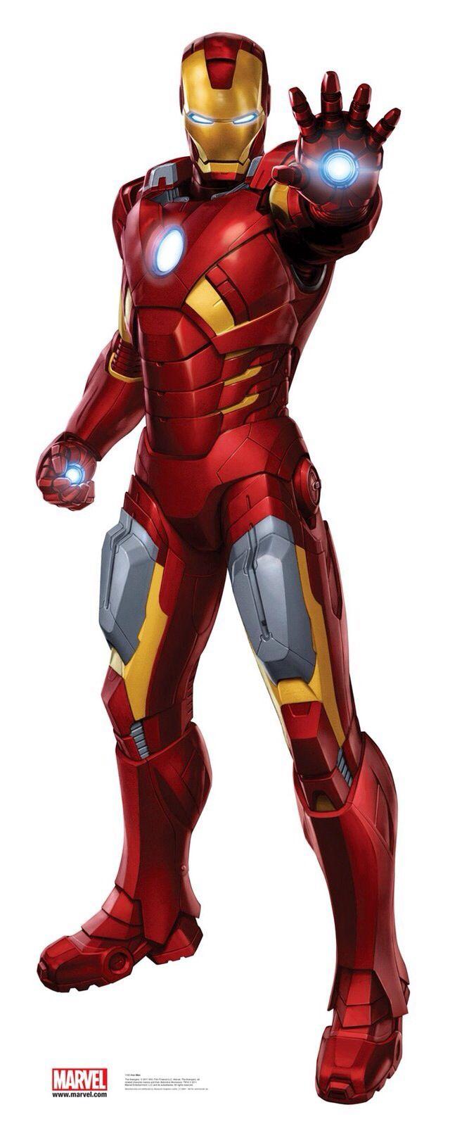 Iron Man Mk 7 Los Vengadores Personajes Cumpleaños