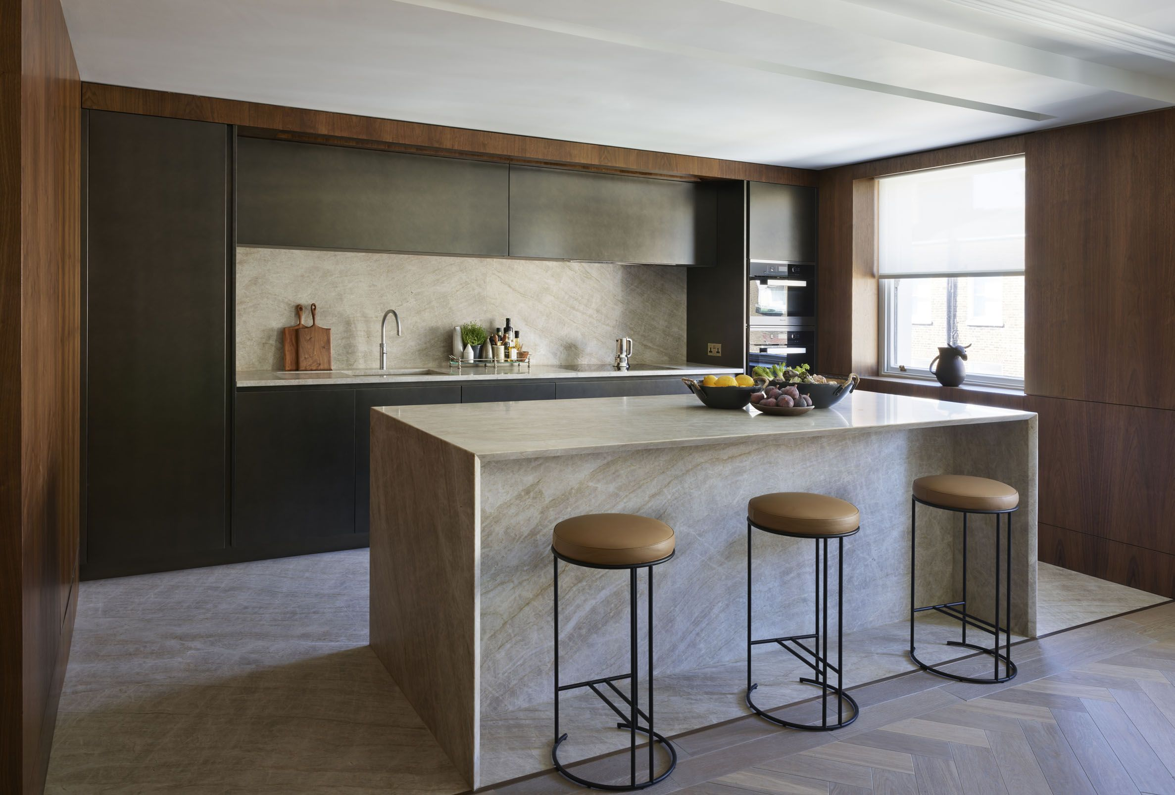 Designed by Vabel for the penthouse apartment of an