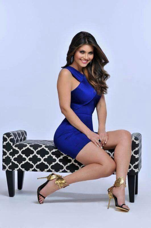 Chiquinquira Delgado Tight Dresses Sexy Dresses Sexy Outfits Girls Heels Belleza Latina