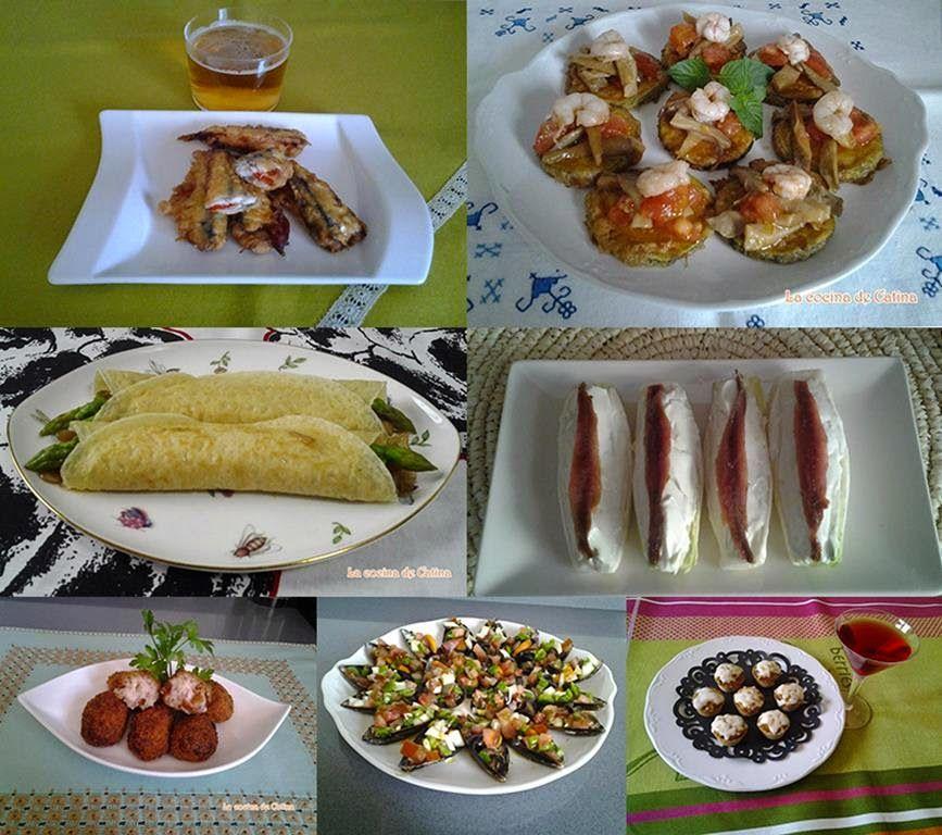 3 sencillos entrantes canap s o aperitivos con pan de for Platos sencillos para cocinar