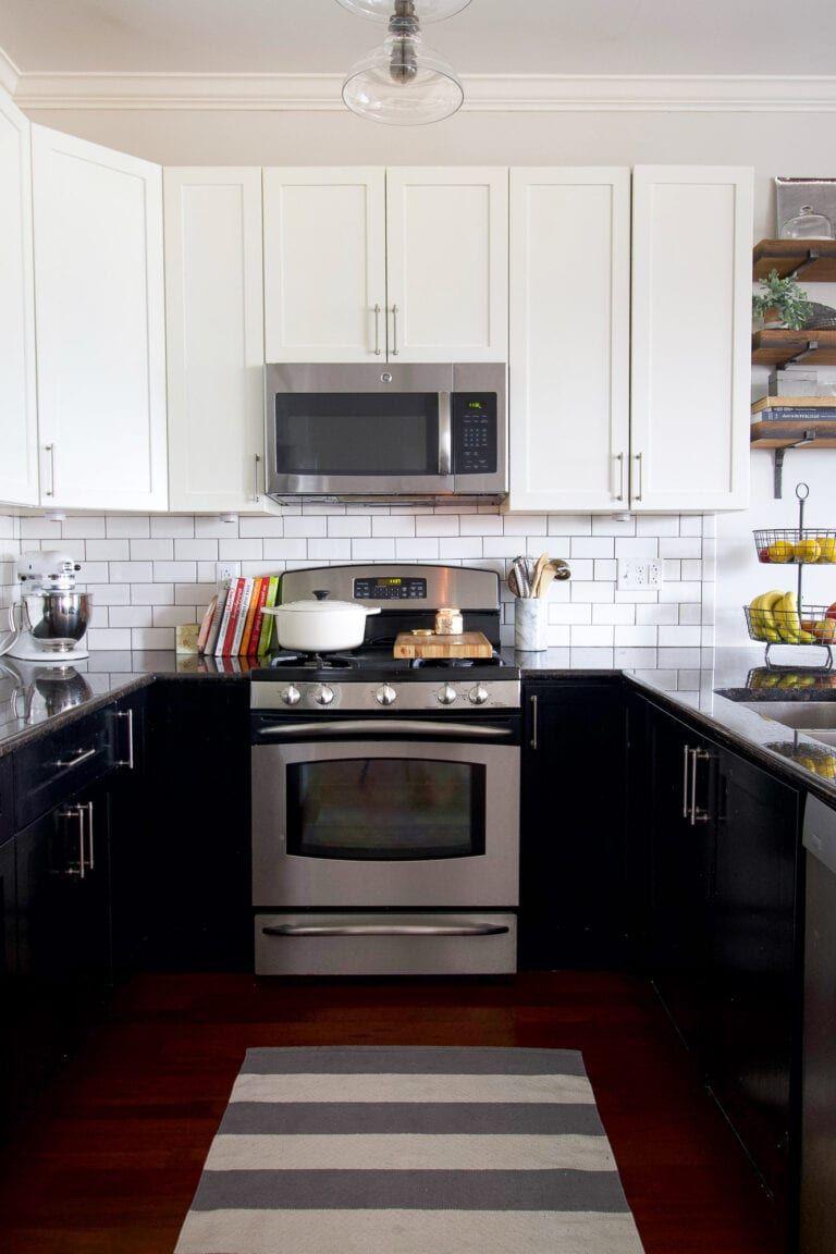 Family Friendly Home Tour Chicago Condo Kitchen Design Decor Kitchen Design Large Dining Room