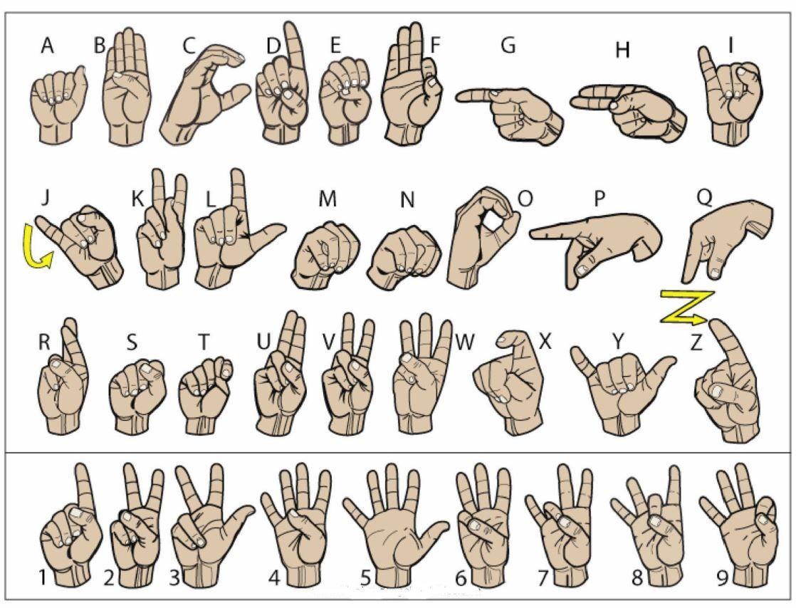 Color Sign Language