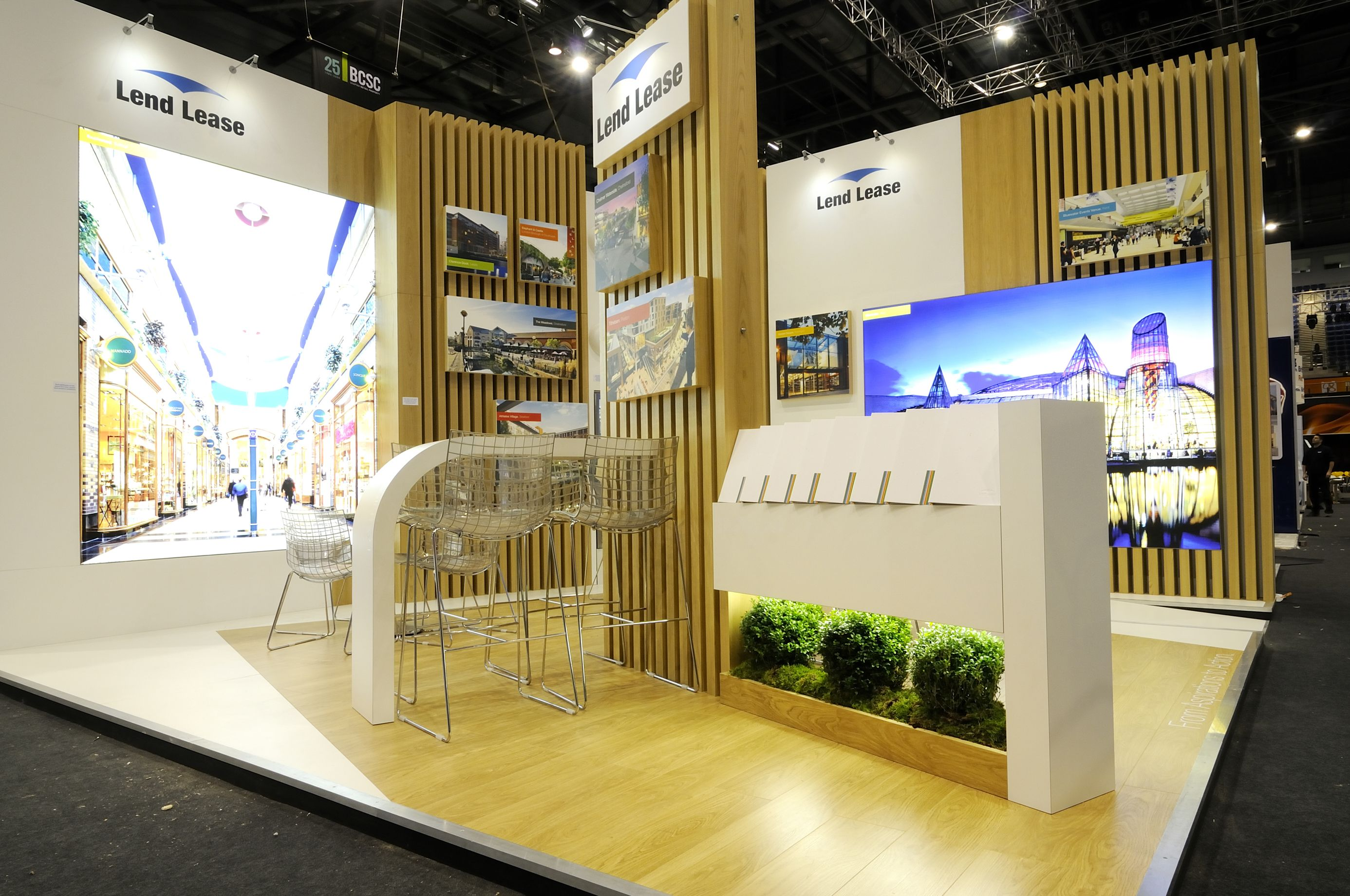 Glass Shed Exhibition Stand Design : Lend lease exhibition stand by sovereign exhibitions