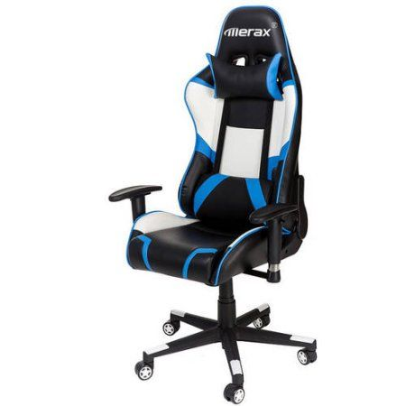 Brilliant Merax Pu Leather High Back Racing Style Gaming Chair Creativecarmelina Interior Chair Design Creativecarmelinacom