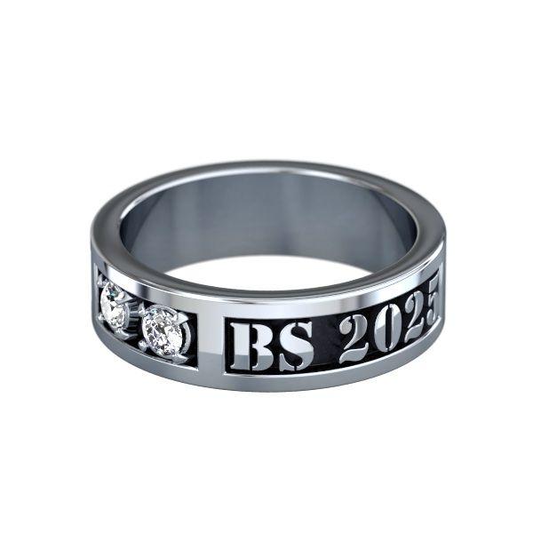 Jostens College class ring design Vista