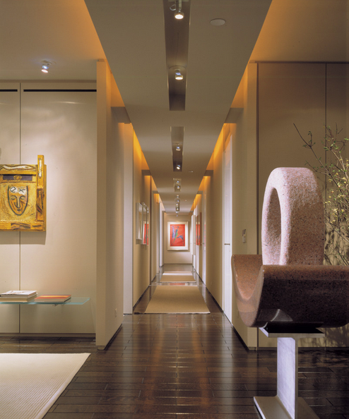 elevator lobby corridor