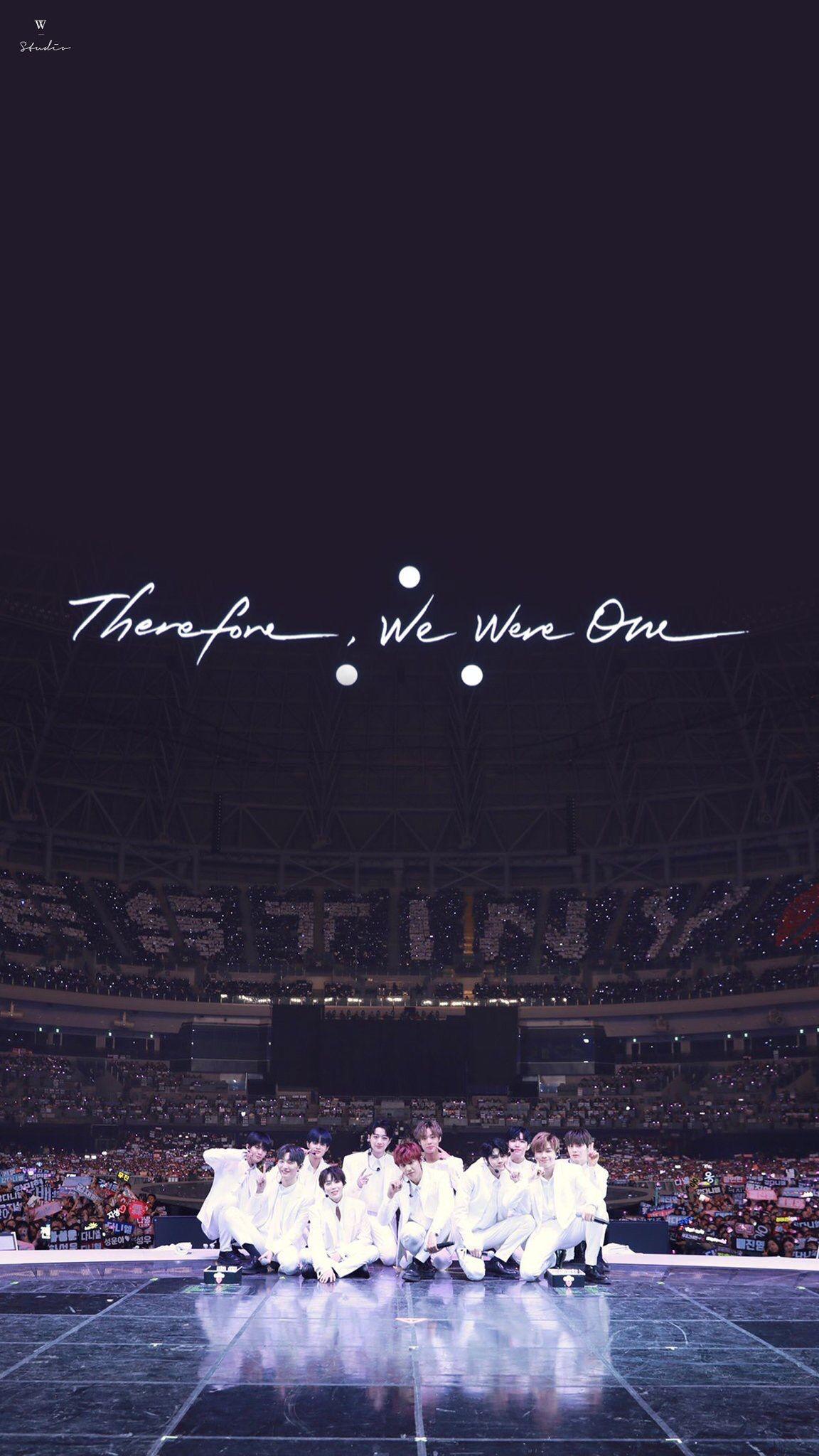 Wanna One Therefore Wallpaper Kenangan Konser Gambar