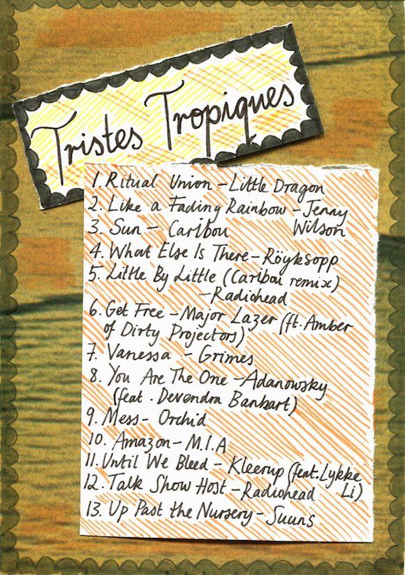 Friday Playlist: Tristes Tropiques