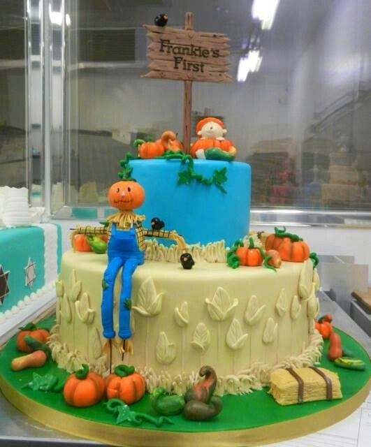 Carlos Bakery Frankies 1st birthday cake from their Facebook