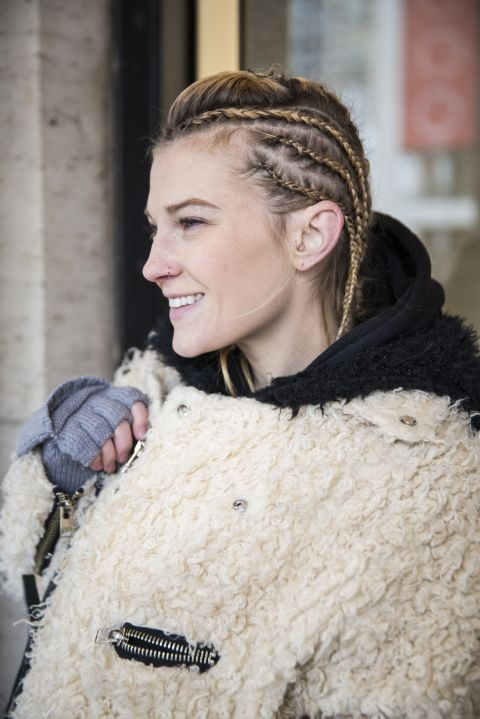 Get some serious lock inspiration by flipping through some of our favorite looks from NYFW.