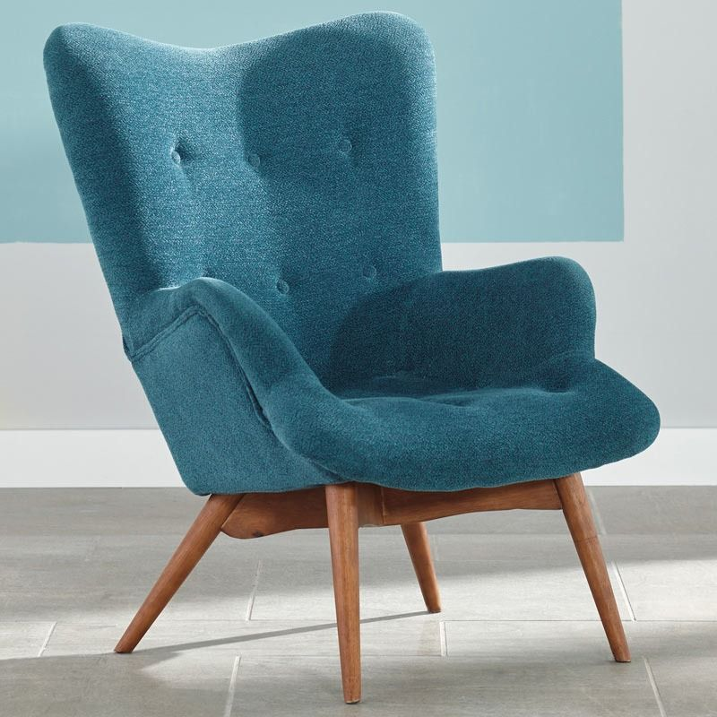 Ashley Pelsor Modern Turquoise Accent Chair Weekends Only Furniture And Mattress With Images Turquoise Accent Chair
