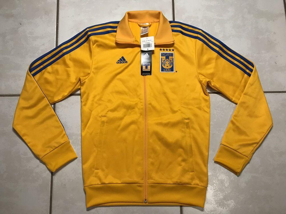 23ac8413810e2 NWT ADIDAS Tigres UANL Jacket Men s Small