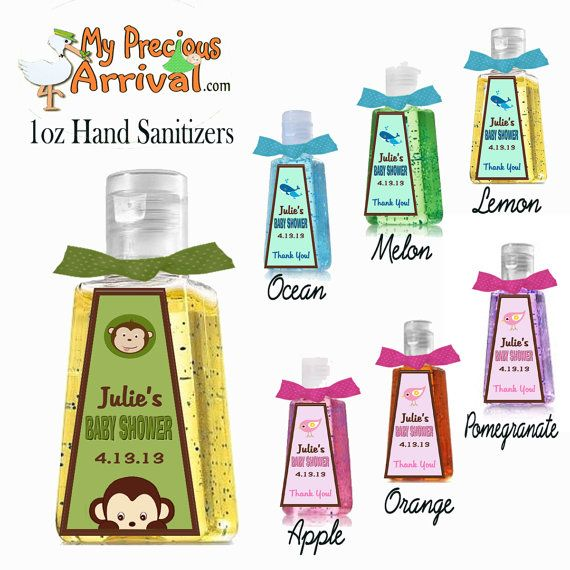Personalized 1 Oz Hand Sanitizer Shower By Mypreciousarrival
