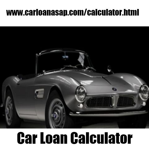 Car Loan Calculator Auto Loan Pinterest Cars, Car loans and - auto loan calculator