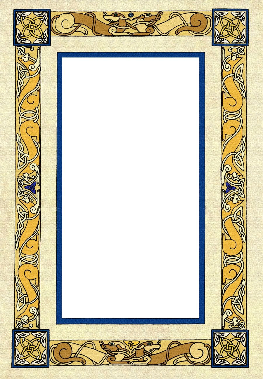 Pin Von Chris Aubin Auf Scroll Inspiration Frame Border