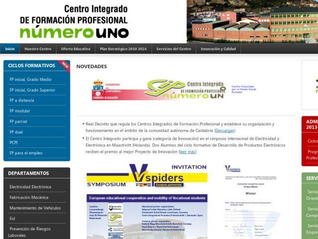 C I De F P Nº 1 De Santander Es Un Centro De Formación Profesional Financiado Por El Fondo Social Europeo Formacion Profesional Ciclo Formativo Profesional