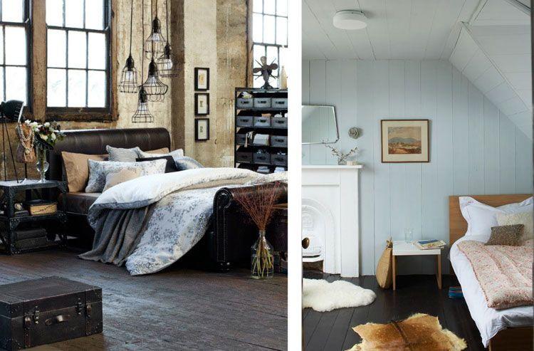 slaapkamer inrichten donkere vloer