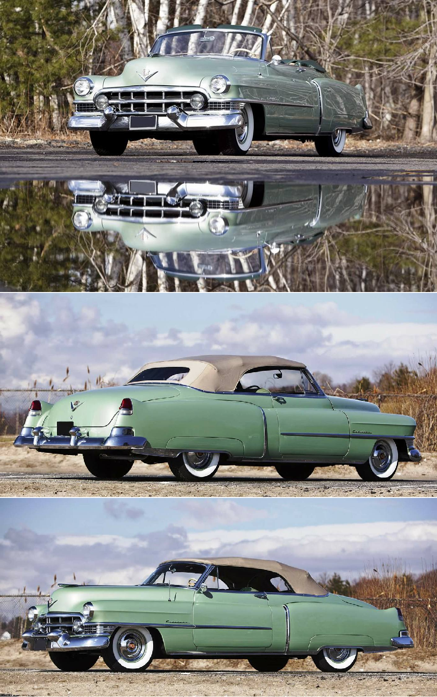 1951 Cadillac Series 62 Convertible Wheels Us Sedan