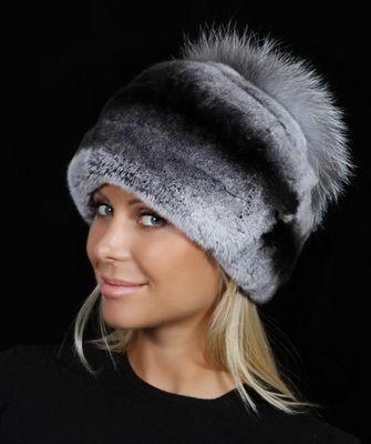 Модные женские меховые шапки 2017, зимние шапки (49