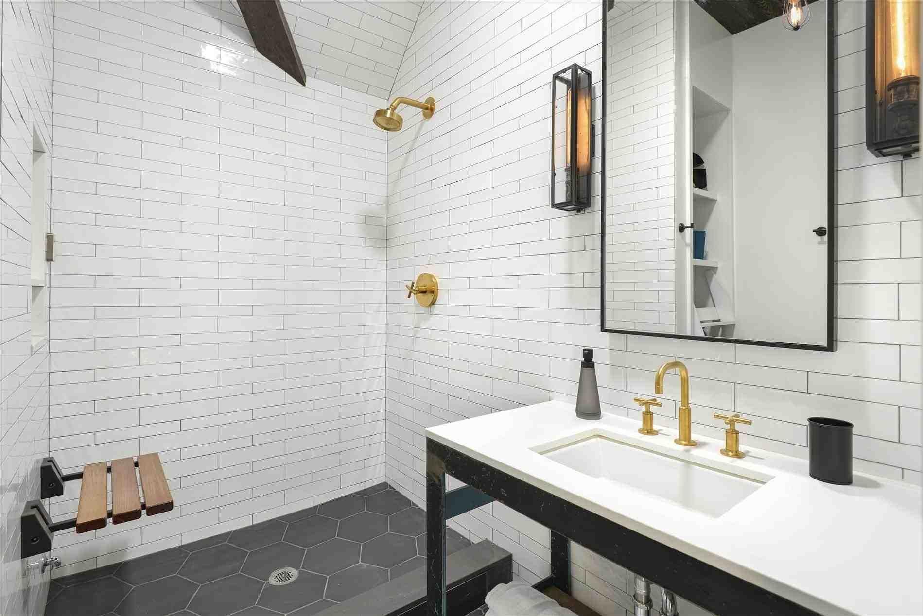 New Post bathroom tile options   LivingRooms   Pinterest