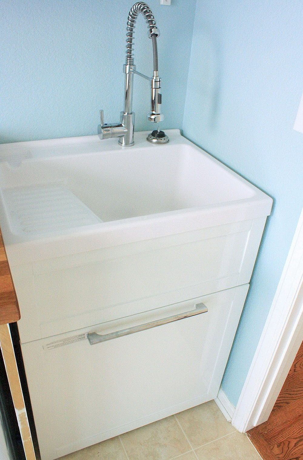Nice Laundry Room Faucet With Trap Primer Elaboration - Sink Faucet ...