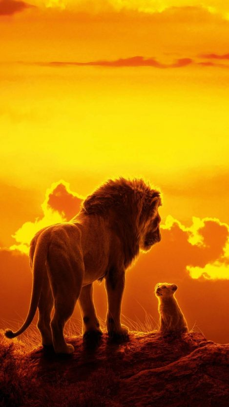 The Lion King iPhone Wallpaper #fondecraniphone