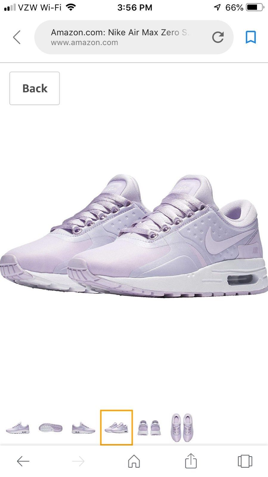 Nike Air Max Zero In Color Of Purple Violet Youth Size 4y Nike Sku 917863 500 4 Lightly Used By Daughter Grew Or If Them In About Nike Air Max Air Max Nike