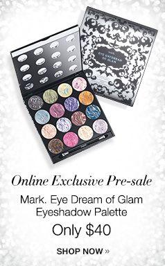 mark. Eye Dream of Glam palette  www.youravon.com/robinward