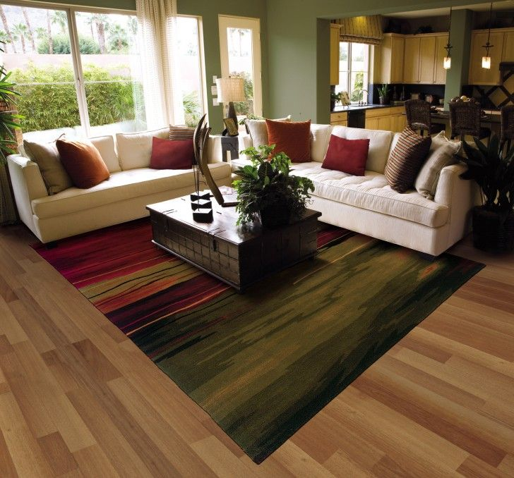 How to Find Area Rug Sale: Stunning Living Room Design With White ...