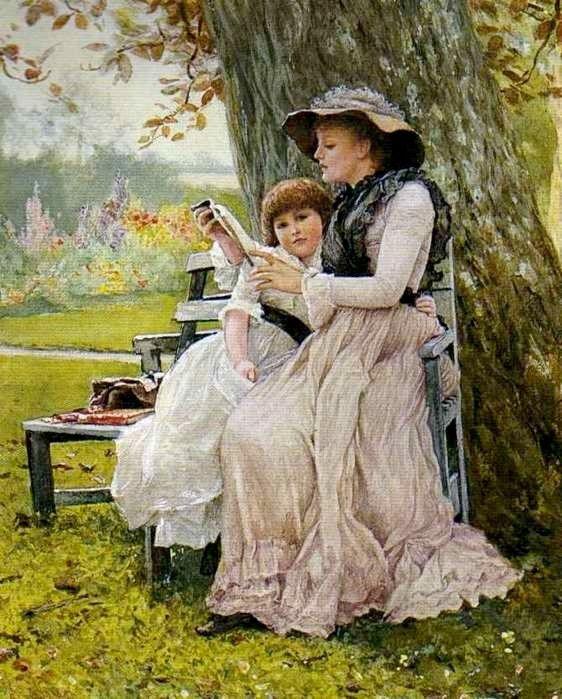 Чтение в открытках, бухгалтеру открытка