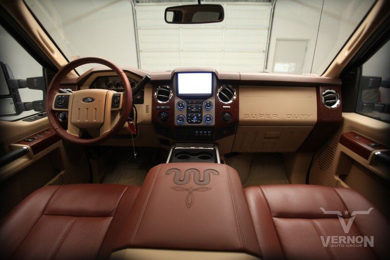 Saddle Brown and Tan King Ranch Interior Build a Truck 2