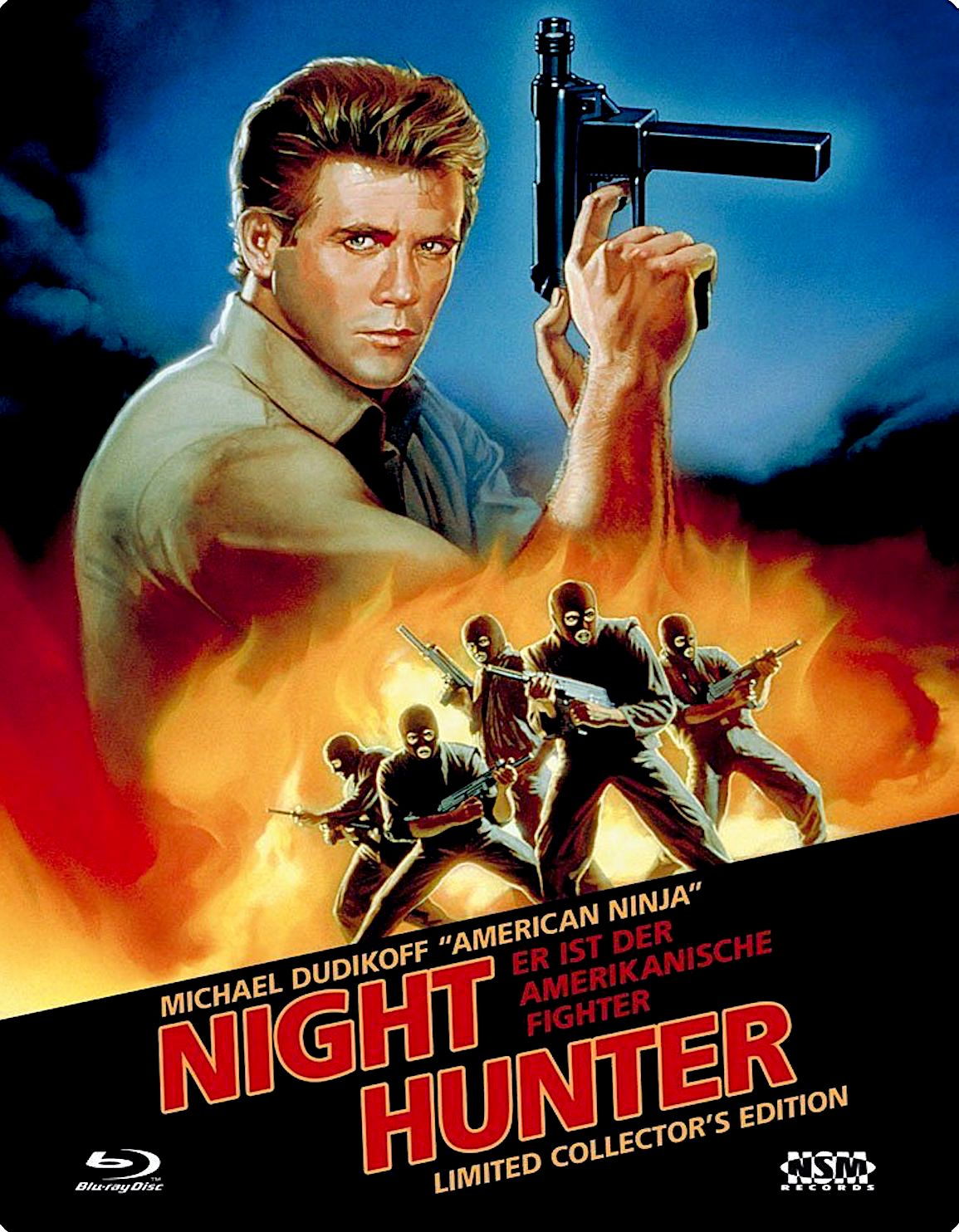 Night Hunter Aka Avenging Force Blu Ray Futurepak Germany Nsm