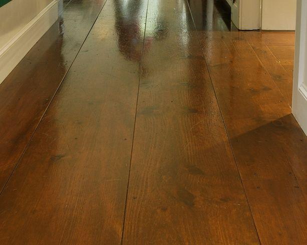 Eastern White Pine Hallway Carlisle Wide Plank Flooring Flooring