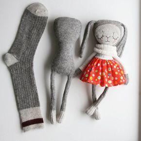 "Amber Vroom - Sock Sculptor on Instagram: ""The evolving sock #sockdoll #sockbunny #sculptedsock #sculptedsocksecrets"""