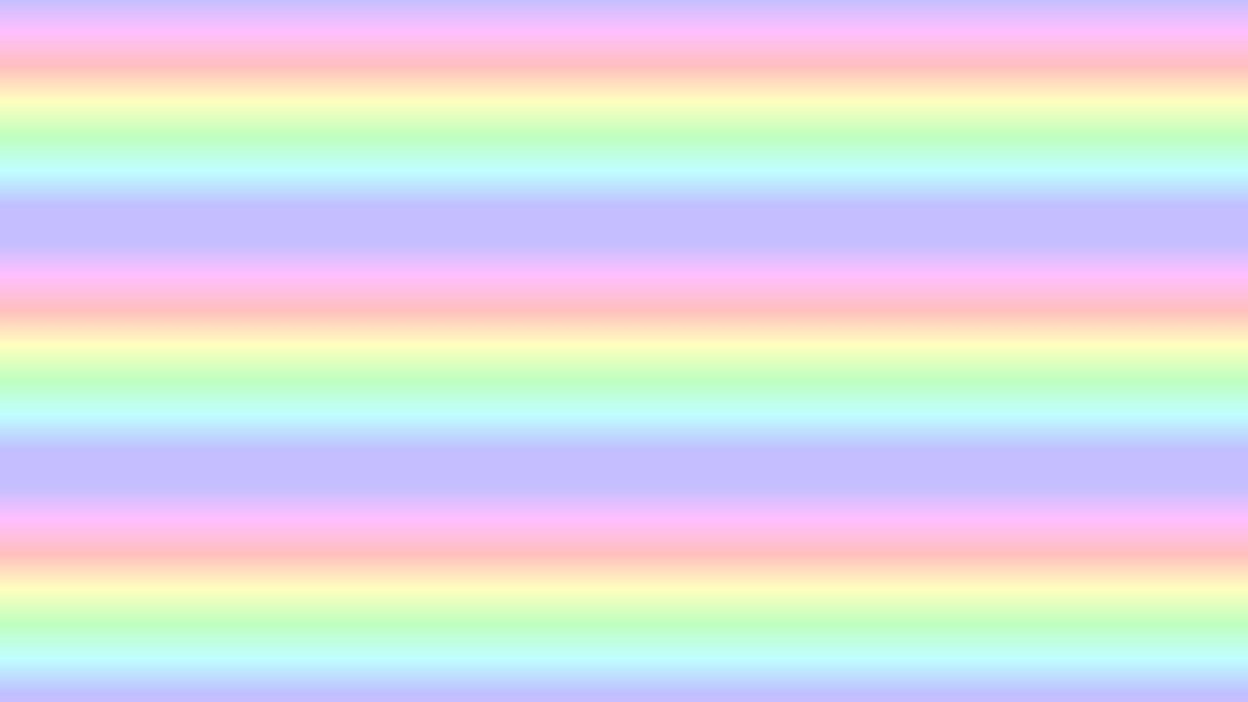 2560X1440 Channel Art Maker for girls Rainbow Scroll