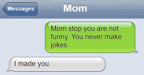 28 Funny Text Messages You Will Have With Your Parents