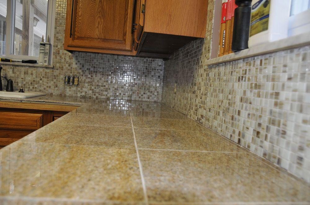 Countertop Tile Granite Countertops 10 Ideas About Contact