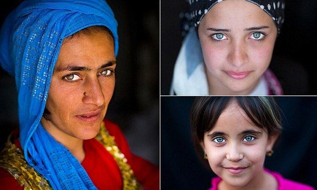 Pale eyed portraits of Kurdistan offer insight into lives of refugees