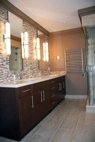 Tile Around Mirror Design, Pictures, Remodel, Decor and Ideas - page 23