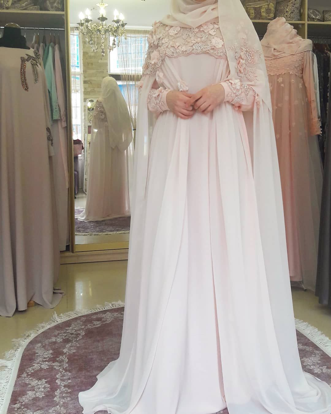 Wedding decorations muslim october 2018 р  Hijabis Style Log  Bridal Gowns in   Pinterest