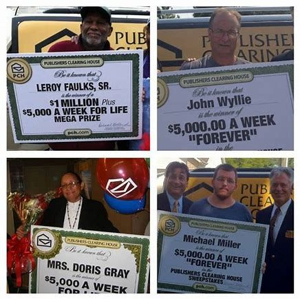 Publishers Clearing House Winners List