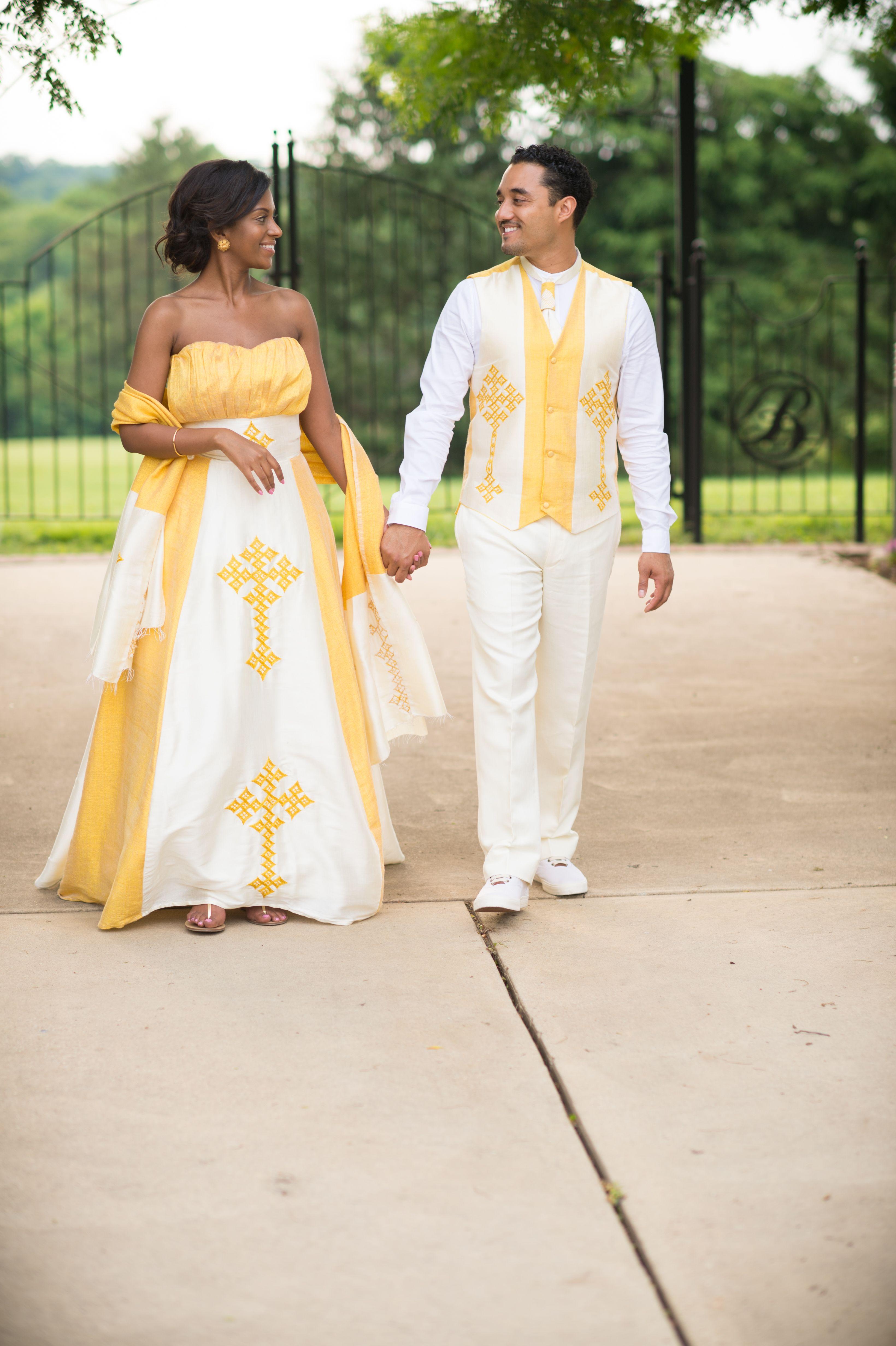 ethiopian wedding dress Ethiopian Wedding African Wedding Native dress