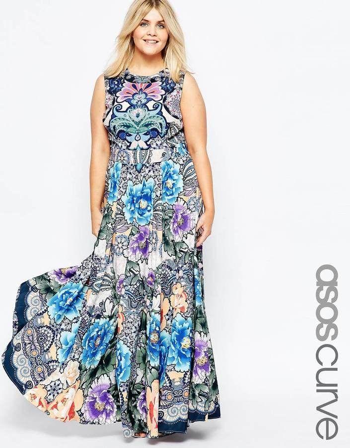 Plus Size Maxi Dress In Print Plus Size Dresses Plus Size Fashion For Women Plus Size Outfits